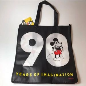 NWT Disney's Mickey Mouse 90 Yrs Tote